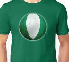 Nigeria - Nigerian Flag - Football or Soccer 2 Unisex T-Shirt