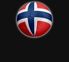 Norway - Norwegian Flag - Football or Soccer 2 Unisex T-Shirt