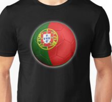 Portugal - Portuguese Flag - Football or Soccer 2 Unisex T-Shirt