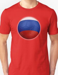 Russia - Russian Flag - Football or Soccer 2 T-Shirt