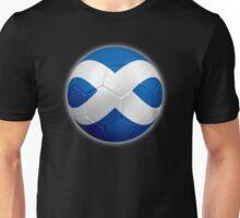 Scotland - Scottish Flag - Football or Soccer 2 Unisex T-Shirt