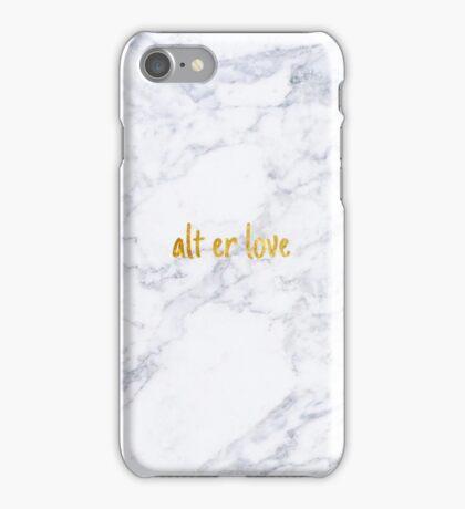 Skam - alt er love iPhone Case/Skin