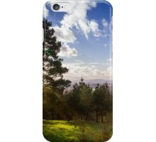 Sun Rays Over Clent Hills iPhone Case/Skin
