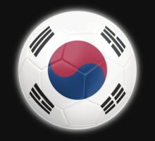 South Korea - South Korean Flag - Football or Soccer 2 by graphix