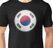 South Korea - South Korean Flag - Football or Soccer 2 Unisex T-Shirt