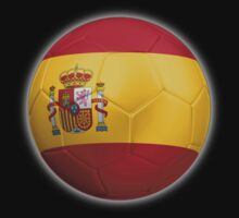 Spain - Spanish Flag - Football or Soccer 2 by graphix