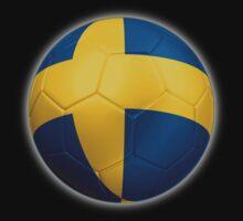 Sweden - Swedish Flag - Football or Soccer 2 Kids Clothes