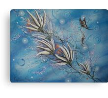 Flight Of The First Key Canvas Print