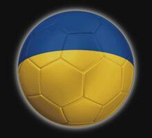 Ukraine - Ukrainian Flag - Football or Soccer 2 One Piece - Short Sleeve