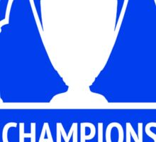 Champions of Europe Sticker
