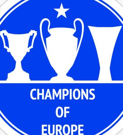 Champions of Europe Sticker