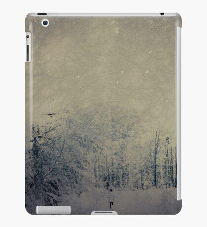 Winter Runner iPad Case/Skin