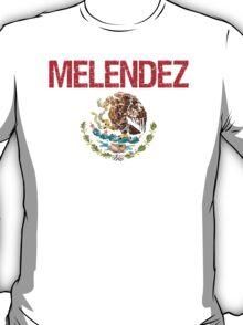 Melendez Surname Mexican T-Shirt