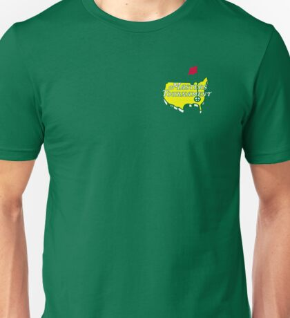 The Masters Golf Map Logo Unisex T-Shirt