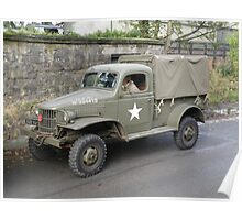 Dodge WC41 4x4 1/2 ton Pick Up Poster