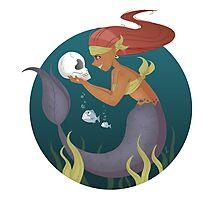 Piranha Mermaid Photographic Print