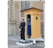 Military Guard iPad Case/Skin