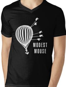 Modest Mouse Good News Before the Ship Sank Combined Album Covers (Dark) Mens V-Neck T-Shirt