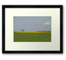 Lincoln Cathedral from Heighington Framed Print