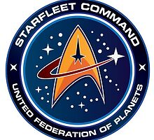 Star Trek: Starfleet logo by jambel