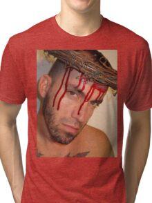 Halloween Christ Tri-blend T-Shirt