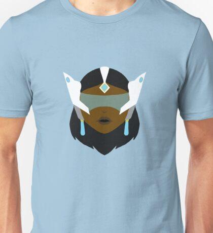 Symmetra - Minimalist Portrait Unisex T-Shirt
