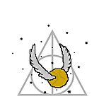 Snitch and Deathly Hallows by steffirae