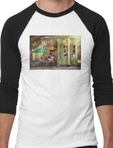 Cafe - Hoboken, NJ - Empire Coffee & Tea Men's Baseball ¾ T-Shirt