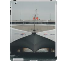 Condor Rapide arriving at Guernsey iPad Case/Skin