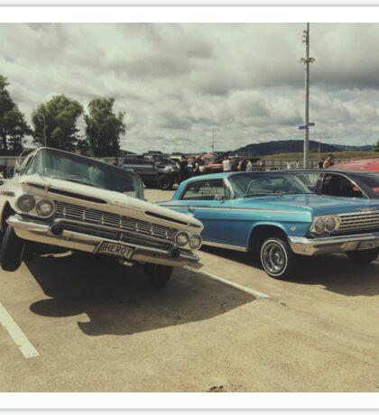 Vintage Cars Sticker