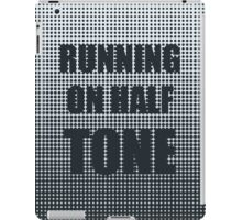Running on Half Tone iPad Case/Skin