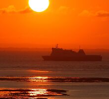 Ferries of the English Channel & Solent Calendar by Jonathan Cox