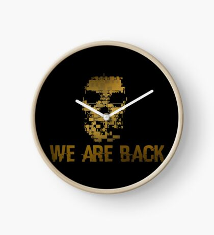 Gold Dedsec - We are back Clock