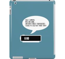 Okay, Campers iPad Case/Skin
