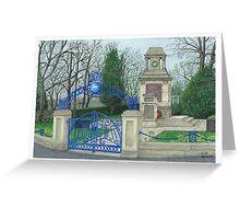 Horsforth Leeds Cenotaph Greeting Card