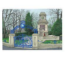Horsforth Leeds Cenotaph Photographic Print