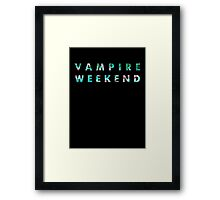 Vampire Weekend Tropical Framed Print