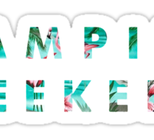 Vampire Weekend Tropical Sticker