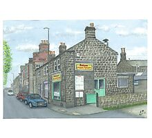 Horsforth Leeds Chinese Takeaway Photographic Print