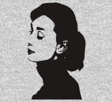 Audrey Hepburn Has A Profile Kids Clothes