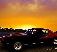 69 Camaro Up At Rocky Ridge For Sunset by ChasSinklier