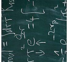 Math Blackboard by mrdoomits