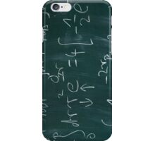 Math Blackboard iPhone Case/Skin