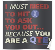 You are a QTE Poster