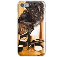 Corset, Heels and a Baton iPhone Case/Skin