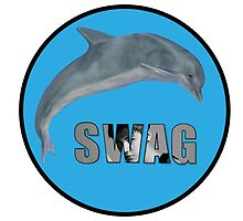 support the swag dolphin by shachart