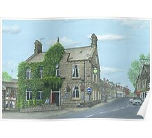 Horsforth Leeds King's Arms Poster