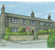 Horsforth Leeds Long Row by Brian Hargreaves