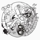 The Yin-Yang Robo Fight! by Adew