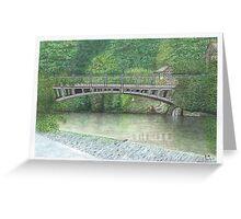 Horsforth Leeds Newlay Bridge Greeting Card